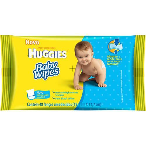 Tudo sobre 'Lenços Umedecidos Huggies Baby Wipes 48 Unidades'