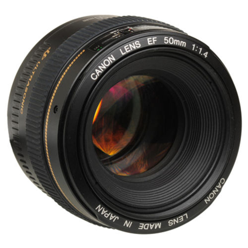 Tudo sobre 'Lente Canon Ef 50mm F/1.4 Usm'