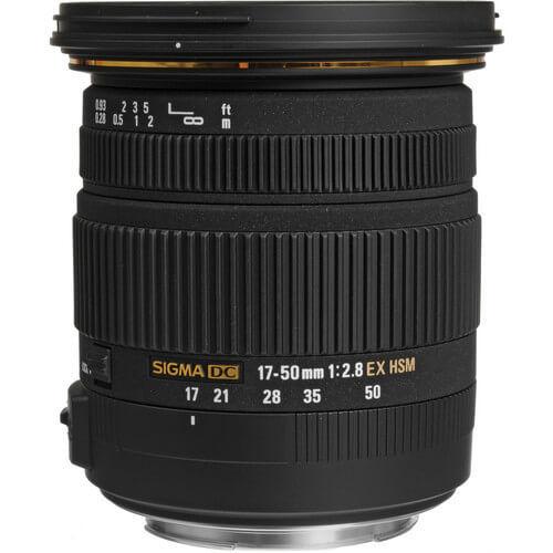 Tudo sobre 'Lente Sigma 17-50mm F/2.8 EX DC OS HSM Zoom para Canon APS-C'