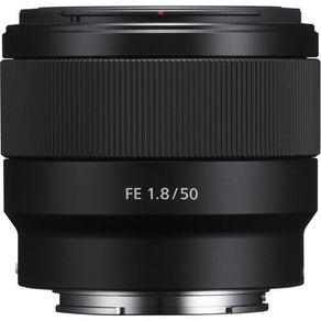 Tudo sobre 'Lente Sony FE 50mm F/1.8 E-Mount Full Frame (SEL50F18F)'