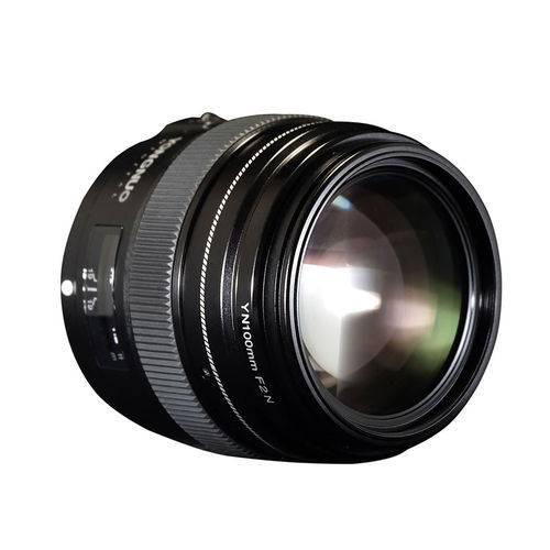 Tudo sobre 'Lente Yongnuo 100mm F/2 - Nikon'