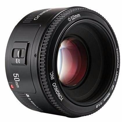 Tudo sobre 'Lente Yongnuo 50Mm F/1.8 Canon'