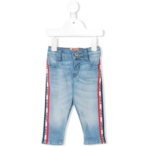 Tudo sobre 'Levi's Kids Calça Jeans Logo - Azul'
