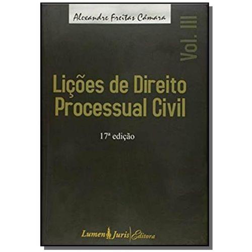 Licoes de Direito Processual Civil - Vol. 3 - 17 e