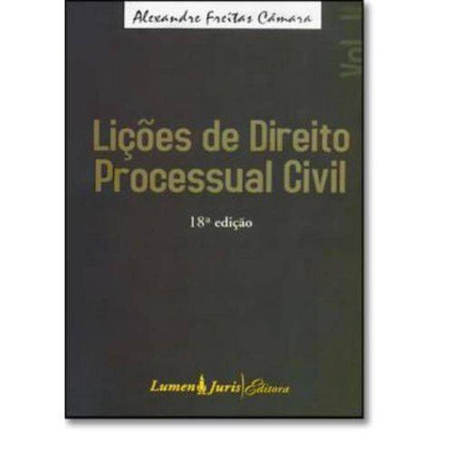 Licoes de Direito Processual Civil - Vol 2 - 18º Ed.