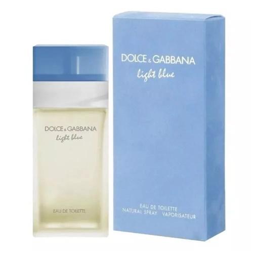 Light Blue By Dolce Gabbana Eau de Toilette Feminino (50ml)