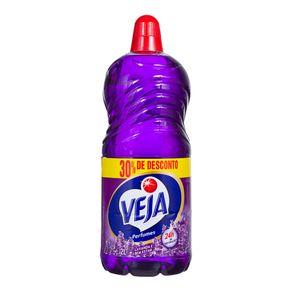 Limpador Perfumado Lavanda VEJA 2 Litros 30% Grátis
