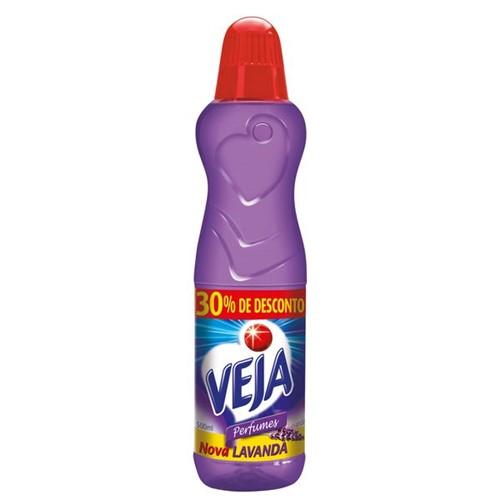 Limpador Perfumado Veja 500ml 30%Desconto Lavanda