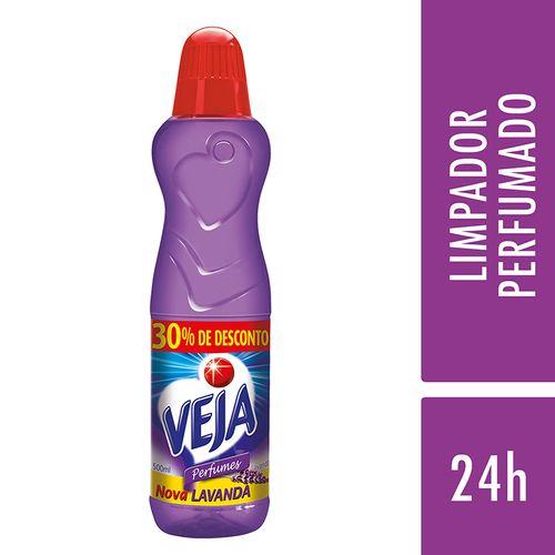 Limpador Veja Perfumes Lavanda Estar 500 Ml Grátis 30% de Desconto