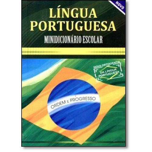 Língua Portuguesa: Minidicionario Escolar
