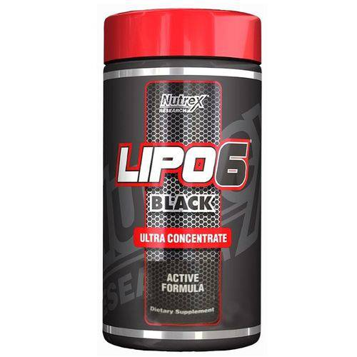 Tudo sobre 'Lipo 6 Black (125g) Ultra Concentrate Fruit Punch Nutrex'