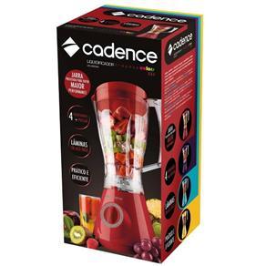 Liquidificador Cadence Colors Evolution 127V Vermelho