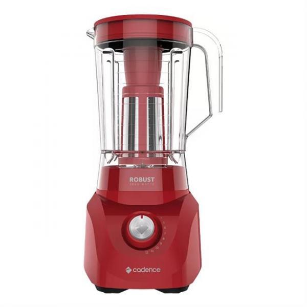 Liquidificador Cadence 3.3L 1000W Vermelho - Robust