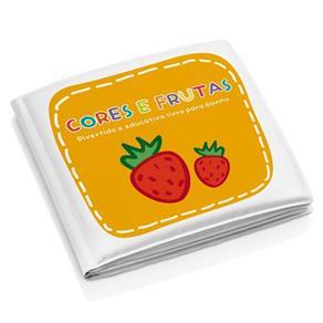 Livrinho de Banho - Cores e Frutas BB205 - Multikids