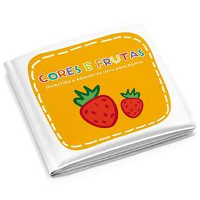 Livrinho de Banho Frutas Colorido