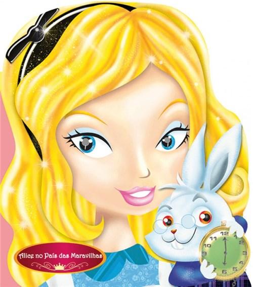 Livro Alice no País das Maravilhas Presente Infantil