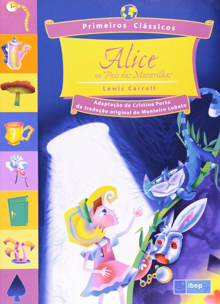 Livro - Alice no Pais das Maravilhas