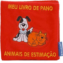 Livro - Animais de Estimação: Meu Livro de Pano