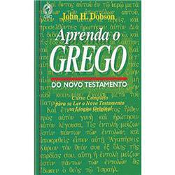Livro - Aprenda o Grego do Novo Testamento