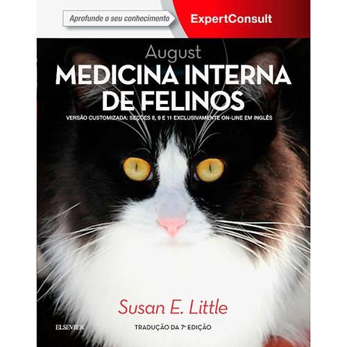Tudo sobre 'Livro - August Medicina Interna de Felinos'