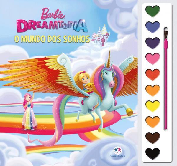 Livro - Barbie Dreamtopia - o Mundo dos Sonhos