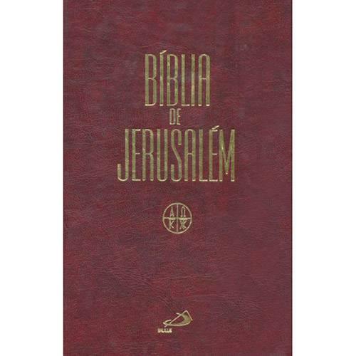 Tudo sobre 'Livro - Bíblia de Jerusalém - Ziper'
