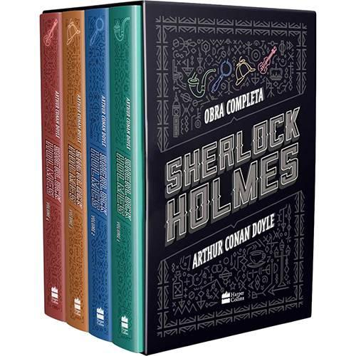 Tudo sobre 'Livro - Boxe Sherlock Holmes: Obra Completa'