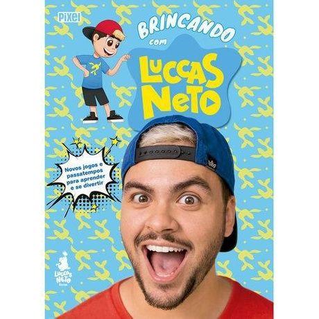 Tudo sobre 'Livro Brincando com Luccas Neto'
