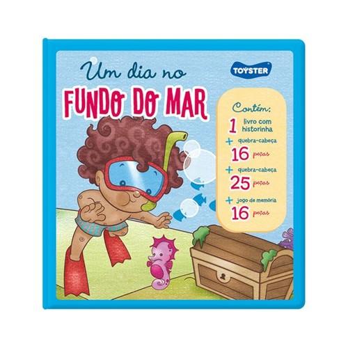 Tudo sobre 'Livro Brinquedo um Dia no Fundo do Mar'