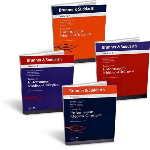 Tudo sobre 'Livro - Brunner & Suddarth - Tratado de Enfermagem Médico-Cirúrgica - 4 Volumes'