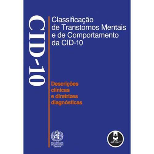 Tudo sobre 'Livro - Classificação de Transtornos Mentais e de Comportamento'
