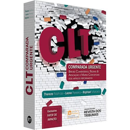 Tudo sobre 'Livro - CLT Comparada Urgente'