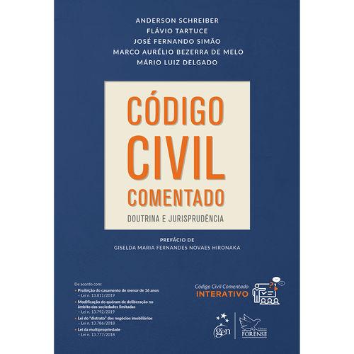 Tudo sobre 'Livro - Código Civil Comentado'