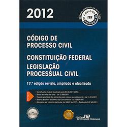 Livro - Código de Processo Civil - 2012