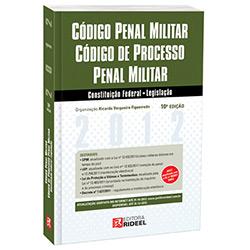 Livro - Código Penal Militar Código e Processo Penal Militar