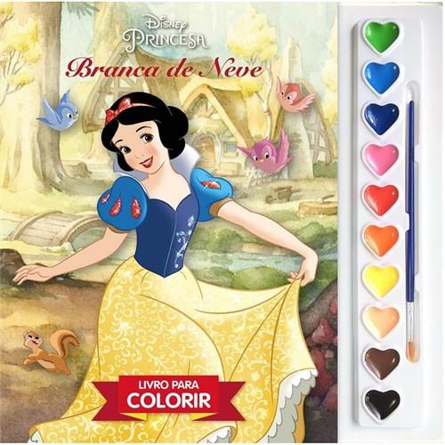 Livro Coleção Aquarela Disney - Branca de Neve - EDITORA DCL