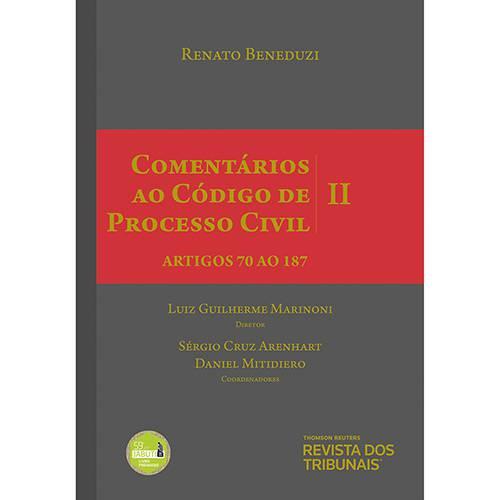 Tudo sobre 'Livro - Comentários ao Código de Processo Civil II'