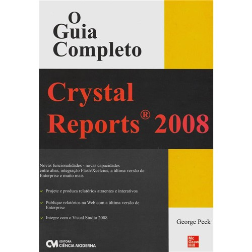Livro - Crystal Reports 2008: o Guia Completo