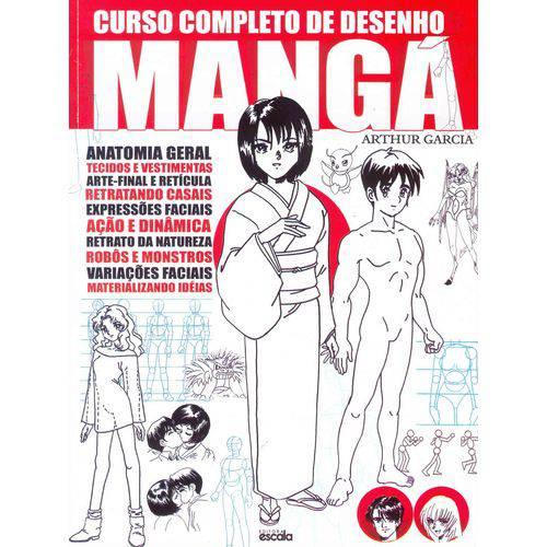 Tudo sobre 'Livro Curso Completo de Desenho Mangá'