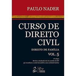 Livro - Curso de Direito Civil: Direito de Familia - Vol. 5