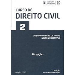 Livro - Curso de Direito Civil: Obrigações - Vol. 2