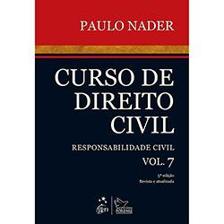 Livro - Curso de Direito Civil: Responsabilidade Civil - Vol. 7