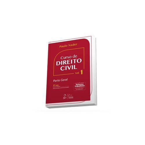 Livro - Curso de Direito Civil Vol 1 - Nader