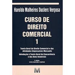 Livro - Curso de Direito Comercial 1