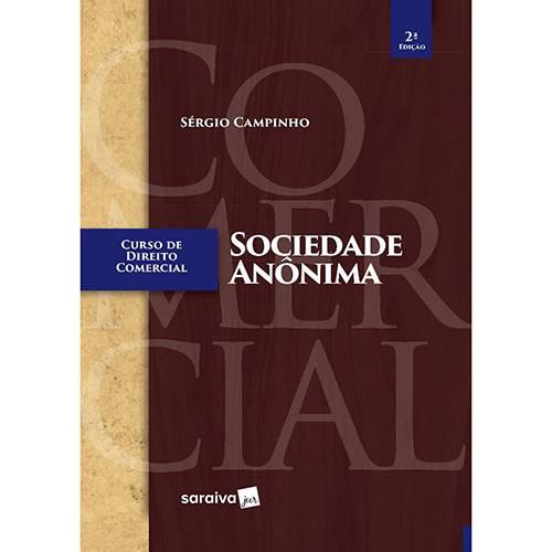 Livro - Curso de Direito Comercial: Socidade Anônima