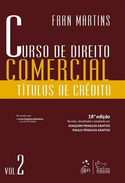 Livro - Curso de Direito Comercial - Vol. 2
