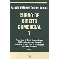 Livro - Curso de Direito Comercial - Volume 1
