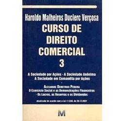 Livro - Curso de Direito Comercial - Volume 3