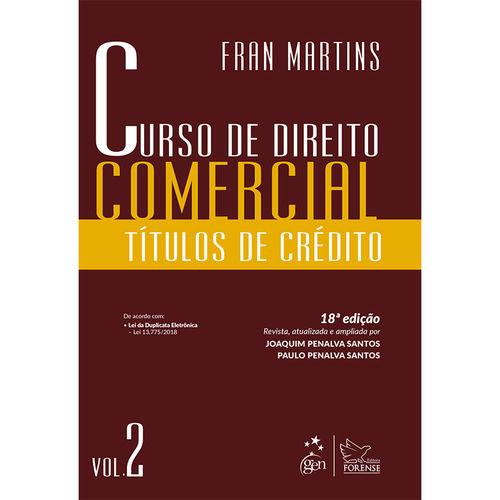 Livro - Curso de Direito Comercial