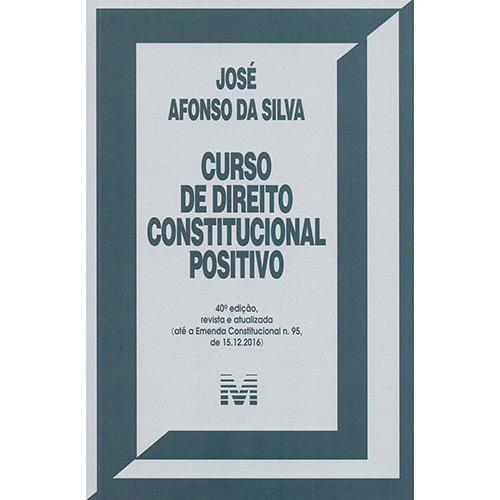 Livro - Curso de Direito Constitucional Positivo